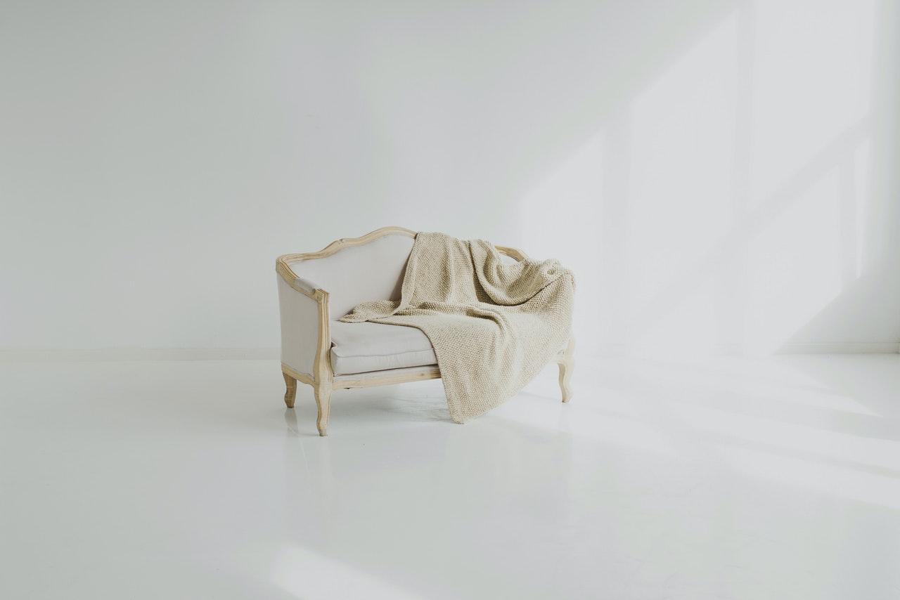 re-upholstered furniture